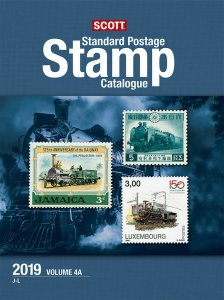 Scott Stamp Catalog 2019 Volume 4A & 4B - COUNTRIES J-M