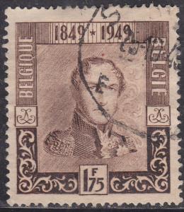 Belgium 387 King Leopold I 1949