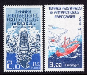 French Southern and Antarctic Territories 123-124 MNH VF