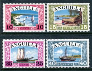 Anguilla 32-5 Mint NH 1968 Boats. NO per item shipping