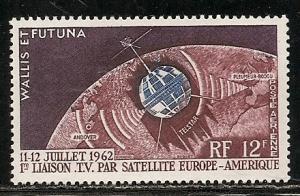 Wallis and Futuna Islands C17 1962 Telstar single MNH