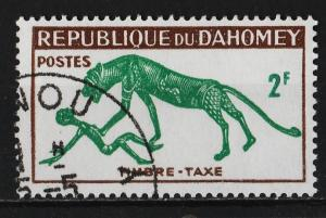 Dahomey 1963 Postage Due Stamps 2F (1/5) USED