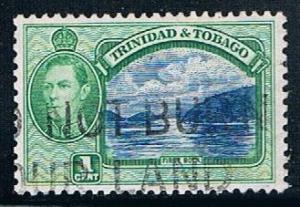 Trinidad and Tobago 50, 1c George VI, First Boca, used, VF