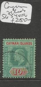 Cayman Islands SG 34 VFU (10cqv)