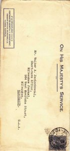 1935, Melbourne, Australia (Ship Mail Canx), See Remark (27281)