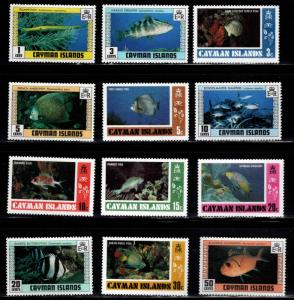 Cayman  Scott 405-418 MNH** stamp set