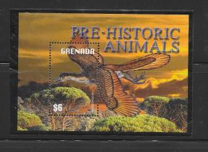PREHISTORIC ANIMALS- GRENADA #3388  MNH
