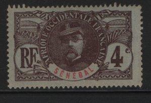 SENEGAL, 59, NO GUM, 1906, GENERAL LOUIS FAIDHERBE