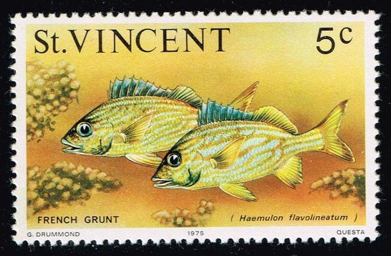 St. Vincent #411 French Grunts; MNH (0.25)