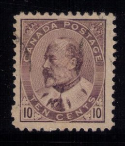 Canada Sc #93 Used Lightly Cancelled Very Fine