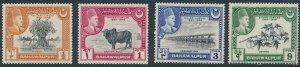 Stamp Pakistan Bahawalpur Sc 22-25 1949 Panjnad Weir MNH