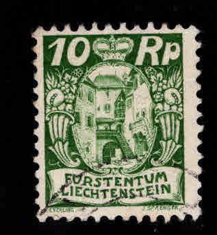 LIECHTENSTEIN Scott 78 Used stamp