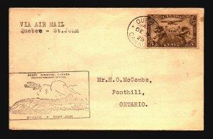Canada 1929 FFC - Quebec to St John - Z16685