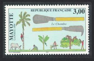 Mayotte Cattle The Chombo agricultural tool SG#85
