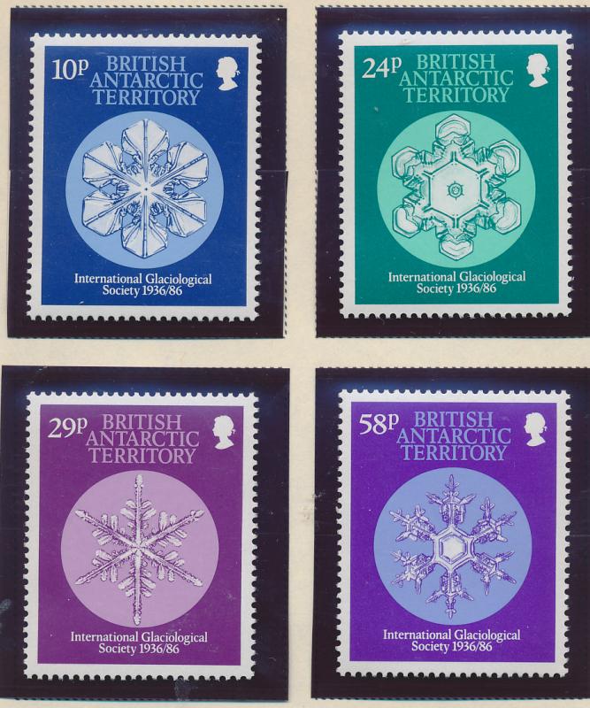 British Antarctic Territory (B.A.T.) Stamps Scott #133 To 136, Mint Never Hin...