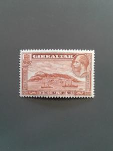 Gibraltar 97a F-VF MH. Scott $18.00