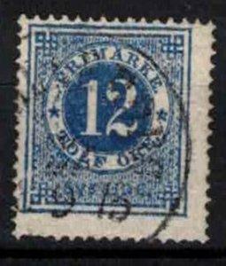 Sweden - SG21- 12ö ring type perf 14. CV 1£ (approx 1.16 Euro