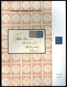 Auction Catalog: Schuyler Rumsey Sale 84: Foreign Stamps and Covers Dec. 2018