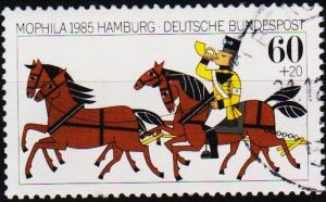 Germany. 1985 60pf+20pf  S.G.2104 Fine Used