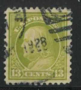 513 Used XF 1928 date canc PSE