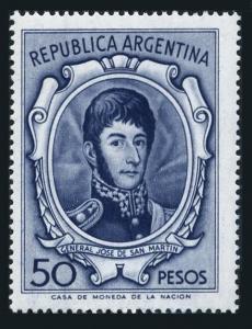 Argentina 826,MNH.Michel 873.General Jose de San Martin
