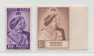 Malaya Penang - 1948 - SG 1-2 - MNH