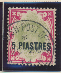 Great Britain, Offices In the Turkish Empire (Levant) Stamp Scott #31, Used -...