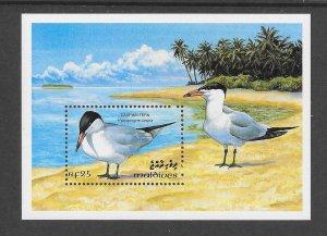 BIRDS - MALDIVES #1872  CASPIAN TERN  MNH