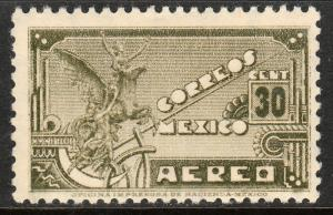 MEXICO C173, 30c 1934 Definitive Wmk Gobierno...279 UNUSED, H OG