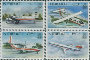 Kiribati 1982 SG179-182 Air Tungaru set MLH