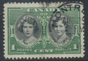 Canada  SG 372 Used Royal Visit 1939  SC# 246   see scan