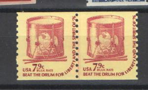 US 1976 Sc# 1615 Joint Line Pair MNH VF+