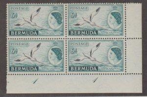 Bermuda Scott #152 Stamp - Mint NH Plate Block
