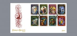 Stamps Jersey 2020. (PreOrder) - Charles Dickens 1812-1870 - First Day Cover Sta