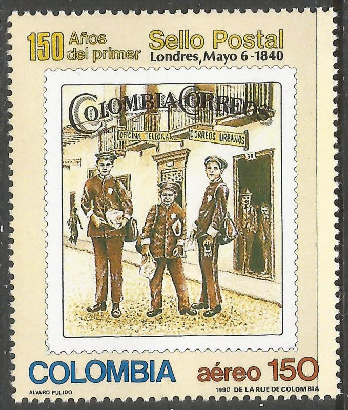 COLOMBIA C828 MNH R751