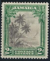 Jamaica SG 124 perf 12½  Mint light hinged  SC# 119     see details