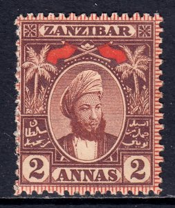 Zanzibar - Scott #40 - MH - SCV $3.50