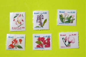 Brazil - 2176-81, MNH Set. Indigenous Flora. SCV - $3.15
