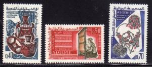 ALGERIA  ALGERIE 1966 HANDCRAFTS OF GREAT KABYLIA ARTISANAT ARTIGIANATO COMPL...