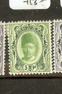 ZANZIBAR (B1702B) SG226   MOG