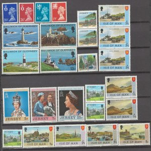 COLLECTION LOT # 3155 GB REGIONAL 26 MNH STAMPS 1971+ CLEARANCE CV+$10