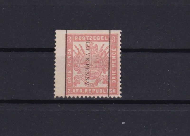 transvaal 1885 mounted mint stamp ref 13654