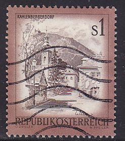 Austria 959 Hinged Used 1975 Kahlenbergerdorf
