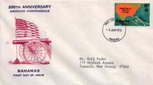 Bahamas, First Day Cover, Americana