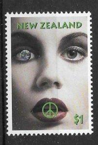 NEW ZEALAND SG1924 1995 NUCLEAR DISARMAMENT MNH