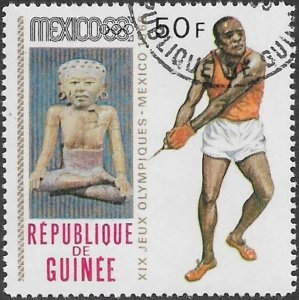 Guinea 1968 Scott # 527 NH CTO. Free Shipping for All Additional Items