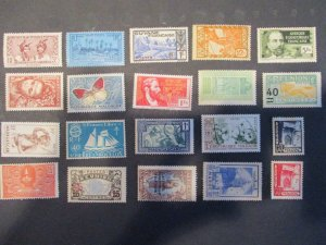 French Colonies / Area Assortment -  Hinged- (5D4) WDWPhilatelic #3
