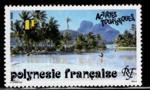 French Polynesia Scott 581 MNH** Tourism stamp