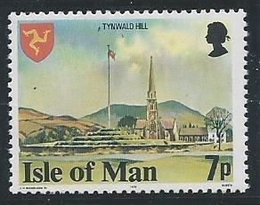 Isle of Man #116a, Tynwald Hill, Mint - NH**-
