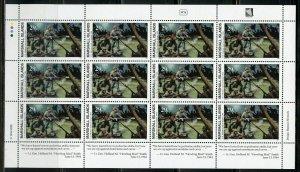 MARSHALL ISLANDS WW II SAIPAN INVASION SCOTT#490 SHEET MINT NH